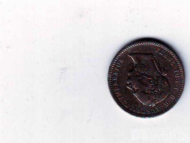 1/4 Florin-Gulden(1874-ražba bz), stav 2/2 dr.škr., VZÁCNÁ !