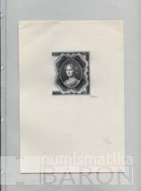 List k uložení bankovek do alba BARON 4, jedna kapsa