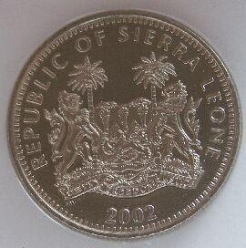 Sierra Leone 1 Leone 2002