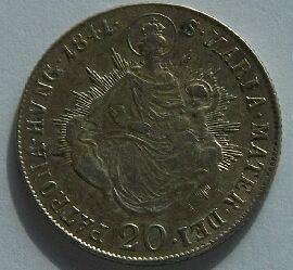 Uhry 20 Krejcar 1841 B Ferdinand V.