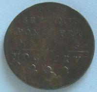 Vatikán BAIOCKO 1816 Pius VII.