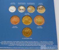 Ročníková sada oběžných mincí ČR (2004-EU), stavy 0/0