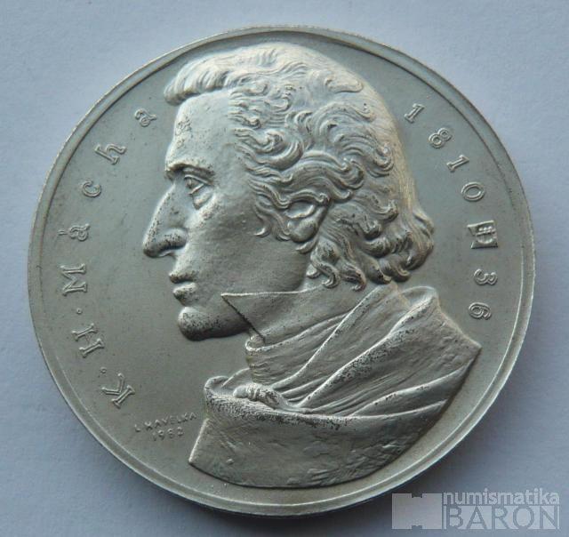ČSR - Ag medaile K.H.Mácha Bezděz