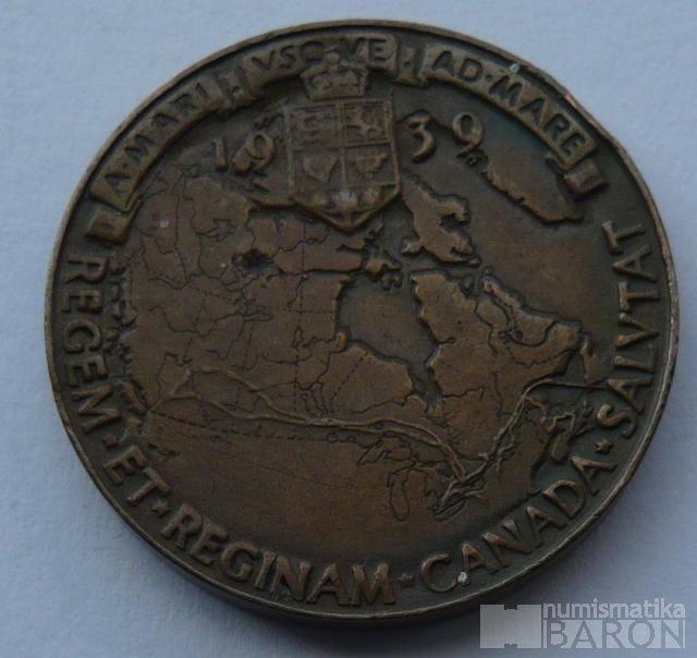 Kanada, Jiří VI. + Alžběta 1939