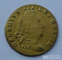 V.Británie, početní peníz 1768, Jiří III.