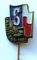 ČSR - IX.sjezd čs. Svazu mládeže 1951