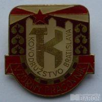 ČSSR - Vzorný pracovník-Kovodružstvo Bratislava