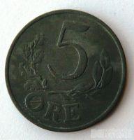 Dánsko 5 Őre 1942