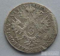 Rakousko 3 Krejcar 1840 A Ferdin. V