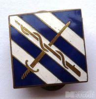 Rakousko - odznak šermíři - rep. smalt.