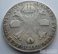 Rakousko Tolar kříž. 1793 M Ferdinard II
