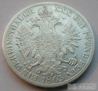 Rakousko Tolar spolk. 1865 A