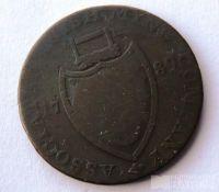 Anglie 1/2 Token 1789