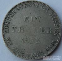 Hessen Cassel Tolar 1832