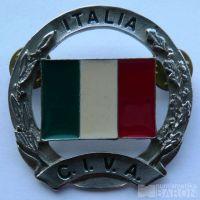 Itálie - vojenský důstojnický odznak