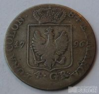 Prusko 4 Groš 1794 Fridrich