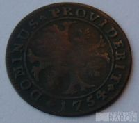 Švýcarsko 1/2 Batren 1754 BERN