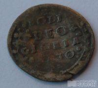 Švýcarsko 2 Krejcar 17.stol. nápis