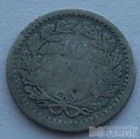 Holandsko 10 Cent 1910