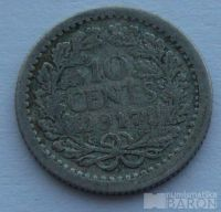 Holandsko 10 Cent 1917