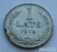 Lotyšsko 1 Lats 1924