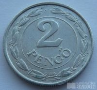 Maďarsko 2 Pengö 1942