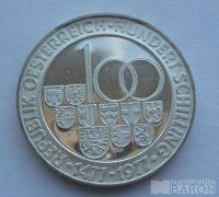 Rakousko 100 Schilling 500let Tirol 1977
