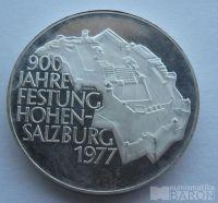 Rakousko 100 Schilling 900let Salzburgu 1977