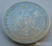 Rakousko 2 Fl 1871 A