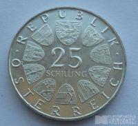 Rakousko 25 Schilling Vídeňská burza 1971