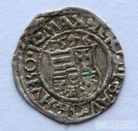 Uhry Denár 1576 KB Maxmilián II.