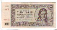 1000Kčs/16.5.1945/, stav 1-, série 02, 07, 08 nebo 21 E