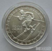 200 Kč(2003-svaz), stav 0/0, certifikát