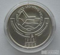 200 Kč(2008-hokej), stav 0/0, certifikát