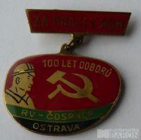 ČSR - Za práci v ROH 100 let odborů