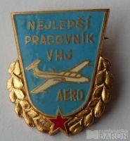 Nejlepší pracovník VHJ - Aero