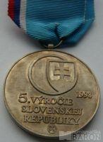 Slovensko - 5.výročí republiky