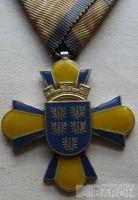 Švédsko - Záslužný kříž