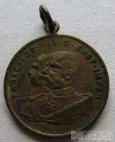 Uhry - medaile na 50 let vlády 1848-98