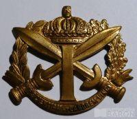 Anglie Vojenský čepicový odznak