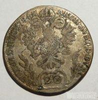 Rakousko 20 Krejcar 1784 A Josef II.