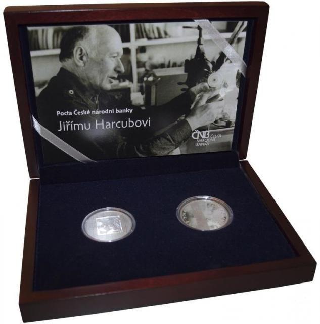 Sada, stříbrná 200Kč a medaile k 25. výročí 17. listopadu 1989, stav PROOF
