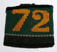Švýcarsko štítek 72 pluk