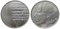 200 Kč(2010-Gustav Mahler), stav PROOF, certifikát