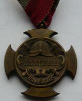 ČSR - Zemská hasičská jednota na Slovensku - zásluze - 1922