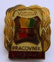 ČSSR Vzorný pracov-Prago H.Králové