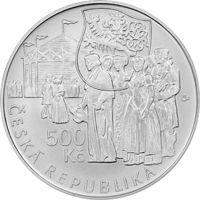 500 Kč(2015-Václav Thám), stav bk, kapsle a certifikát