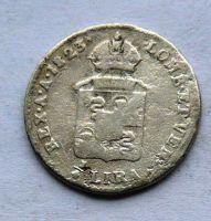 Rak. Itálie 1/4 Lira 1823 M František II.