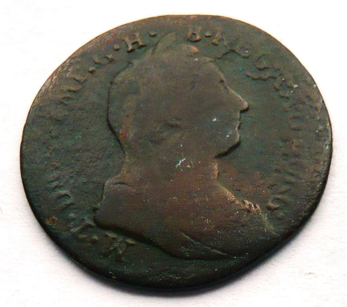 Rakousko 1 Liard 1780 Mar.Terezie