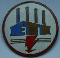 ČSR - odznak elektrárenské společnosti